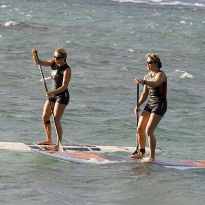 Maui SUP Channel Crossing Lesson1