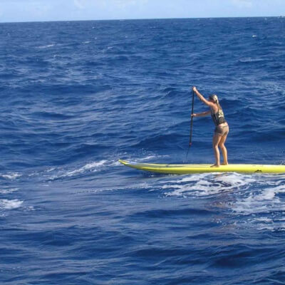 Maui SUP Channel Crossing Lesson2