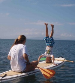 Sup Maui Yoga Lesson